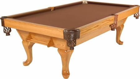T.C. Naz Billiards - Pool Tables - Signature Series - Queen Anne