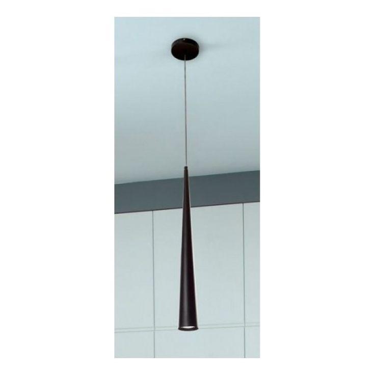 Pendul modern negru dim.7x100cm, Slim P0004 MX - Corpuri de iluminat, lustre, aplice