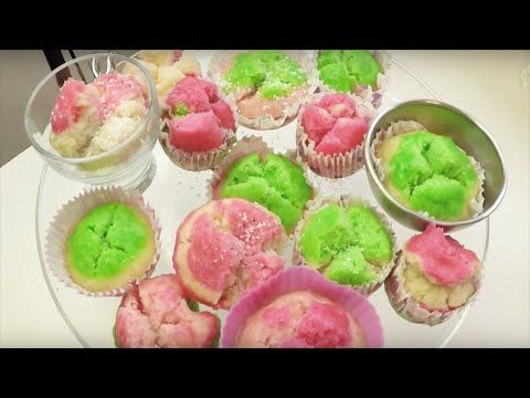 This is a recipe video how to make Kue Mangkok: steamed butterless sweet cakes. Easy and tasty!