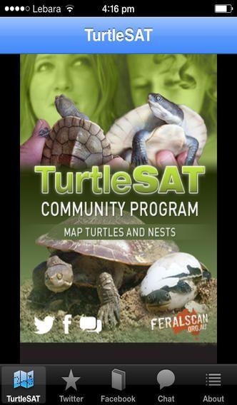 TurtleSAT app. Free