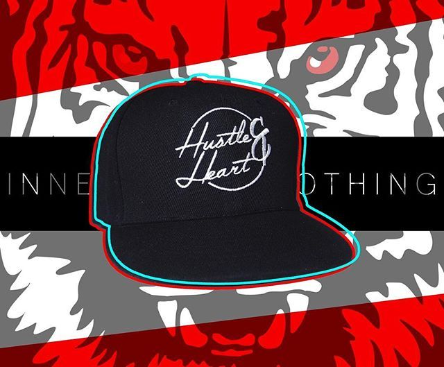 The dream is free. The hustle is sold separately. HUSTLE&HEART snapback available at innerbeastclothing.com/accessories