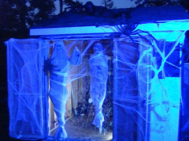 Best 20 haunted house decorations ideas on pinterest for Haunted house scene ideas