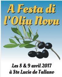A festa di l'Oliu Novu  les 8 & 9 avril 2017 à Sainte Lucie de Tallano» Corsevent