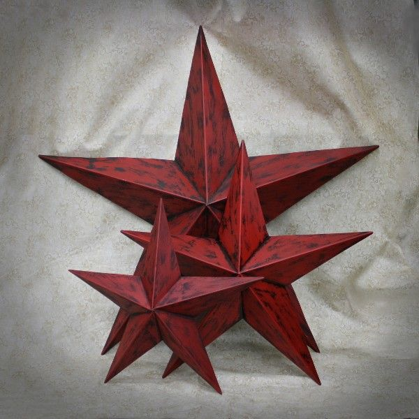 Red Star Wall Decor : Best images about stars on wall decor