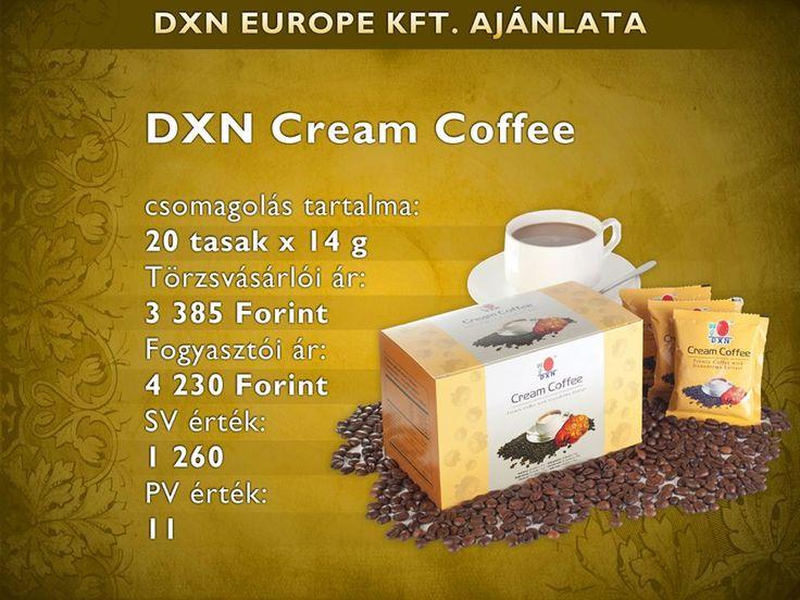 Cream kávé