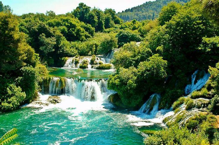 Krásy u Jadranského moře.