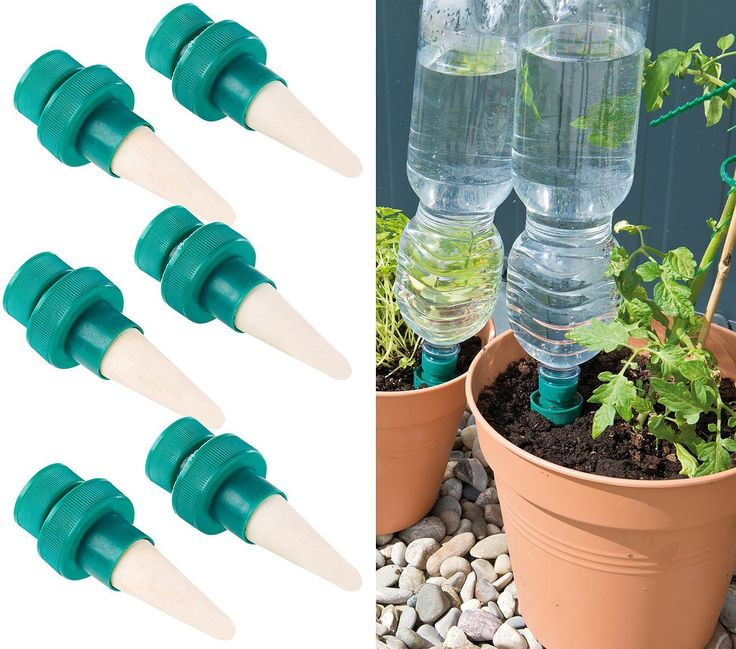 Pin Von Kathrin Wagner Auf Pflanzen: Royal Gardineer Pflanzen-Bewässerungssystem Mit Tonspitze
