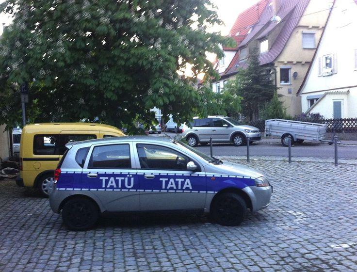 Dieser Polizeiwagen