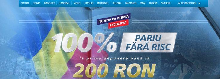 Bonus 200 RON casa de pariuri online SportingBet