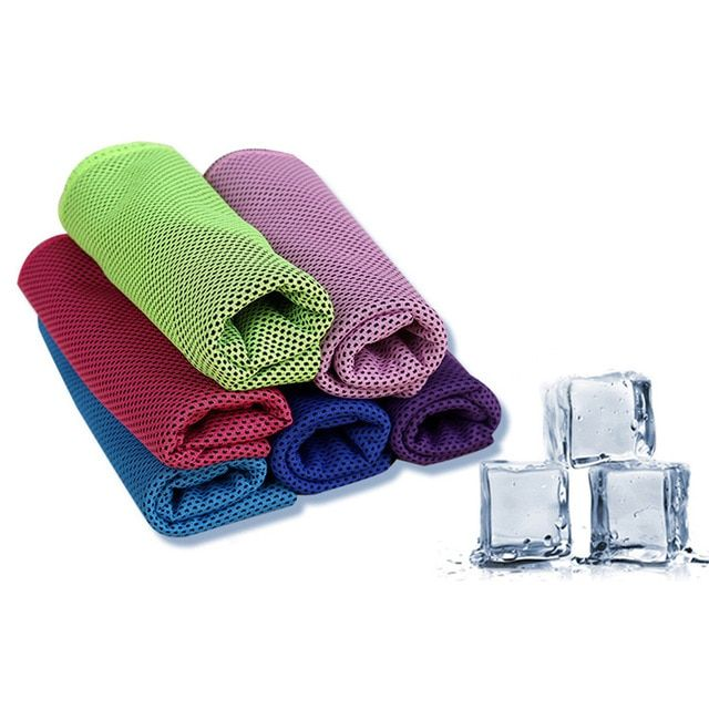 Cooling Towel Sports Gym Jogging Enduring Running Instant Ice Cold Chilly Pad 30 90 Cm Review Instant Ice Jogging