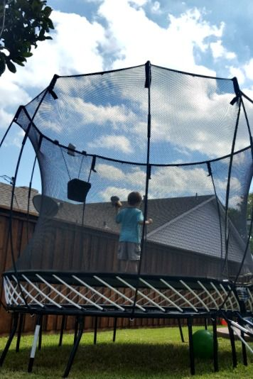 Education & Outdoor Fun with Springfree Trampolines tgoma {a Springfree Trampoline Giveaway!}