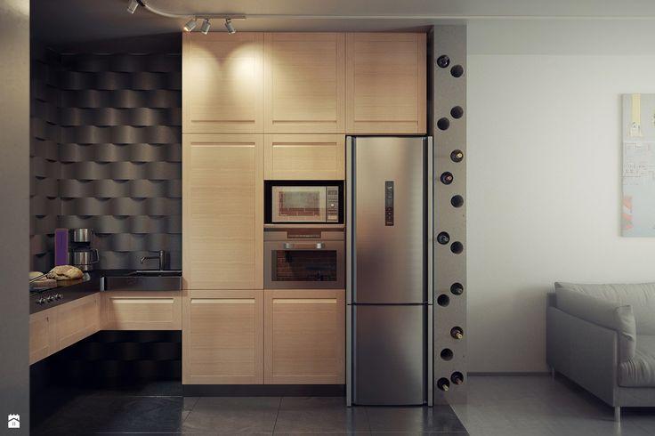 Zdjęcie: Kuchnia styl Industrialny - Kuchnia - Styl Industrialny - 13 pracownia