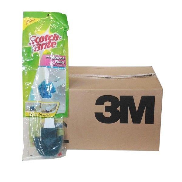 3M Scotch Brite Penggosok Toilet (grosir) (DTBS) - 12 pcs/karton - Sikat Ber Gagang Pembersih Toilet Kamar Mandi Murah  - Tidak mudah berkarat - Kuat dan tahan lama - Praktis  Harga per 12 each/karton  http://tigaem.com/scotch-brite-grosir/934-penggosok-toilet.html  #scotchbrite #sikatbergagang #3M