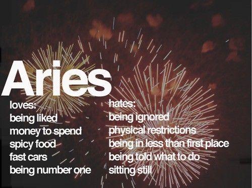 Aries dates