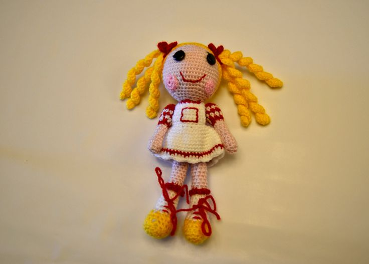 Amigurumi, muñeco realizado a ganchillo en lana acrílica y relleno en guata acrílica de VILLAGUANGUITO en Etsy
