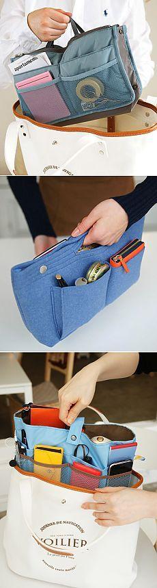 Органайзеры для сумок (подборка идей) / Организованное хранение / ВТОРАЯ УЛИЦА