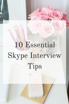 Ace your Skype interview with these 10 essential Skype interview tips. Essential Skype Interview Tips: 1. Prepare ahead of time and prepare…