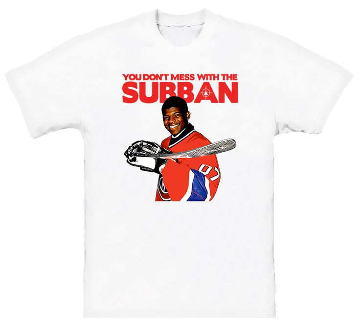 Pk Subban Dont Mess With The Subban Canadiens T Shirt