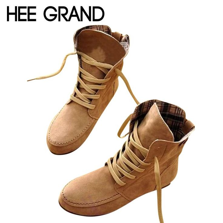 Cheap boot jeans, Buy Quality boots toys 3 for 2 directly from China boots hight Suppliers:  New Arrival Hot Sale Women Flat Ankle Snow Boots Women flock Leather Lace-Up Martin Boot Size Plus 33-44 XW