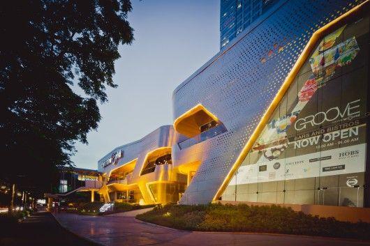 Shine Moda Flagship Store / Atelier tao+c | Pinterest | Bangkok thailand, Architecture and Mall