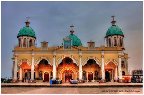 Medhanealem Ethiopian Orthodox Church, Addis Ababa Ethiopia