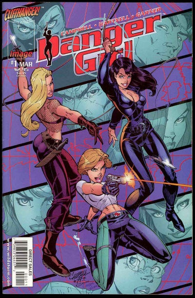 Chuck's Stuff has this 1998 Vol. 1 Danger Girl #1 comic for sale for $2. VF/NM…