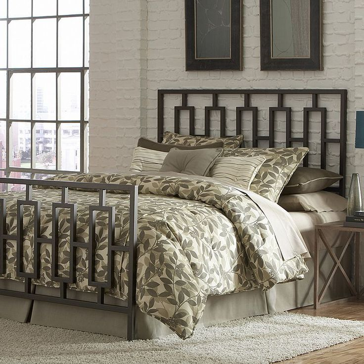 Fashion Bed Group Miami California King Bed, Brown Oth