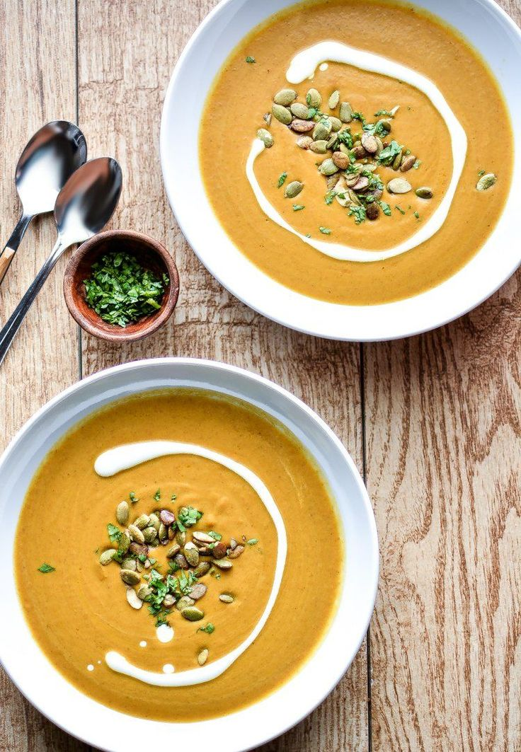 Slow-Cooker Spicy and Creamy Pumpkin Soup