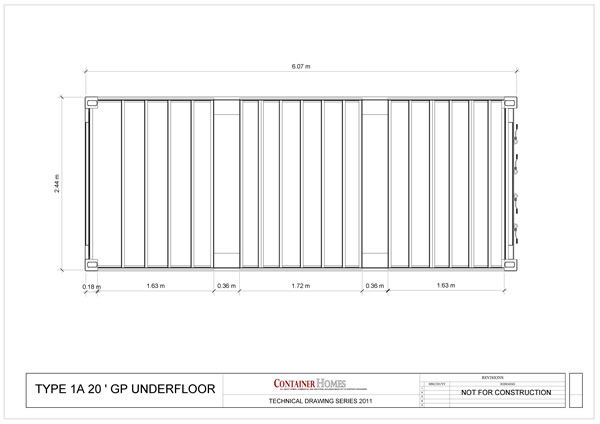 Shipping Containers Dimensions Drawings Google Search Container Parks P