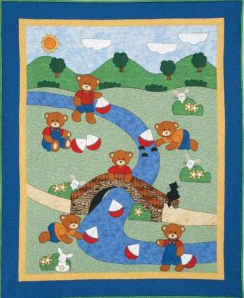 Bobbing Boats - by Kids Quilts - Quilt Pattern