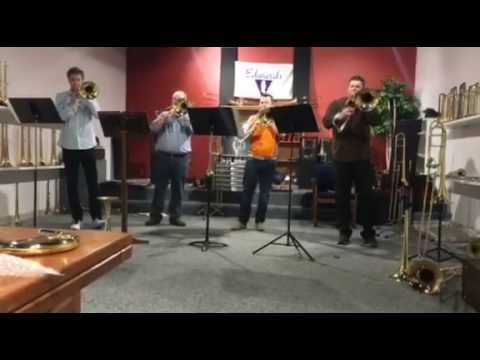American Trombone Quartet Live from the Edwards Factory
