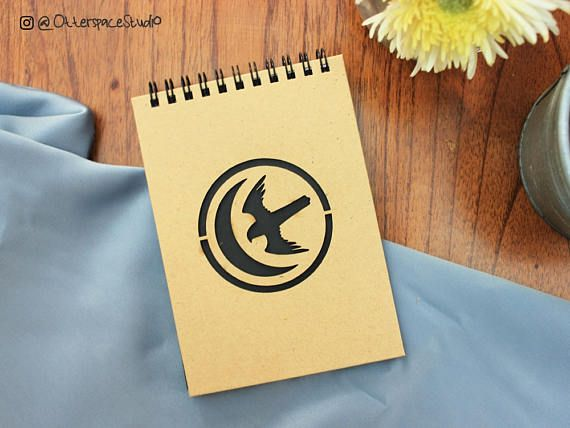 Game of Thrones Notebook  House Arryn Spiral Notepad