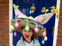 Ideas, links and instructions for Easter bonnets.