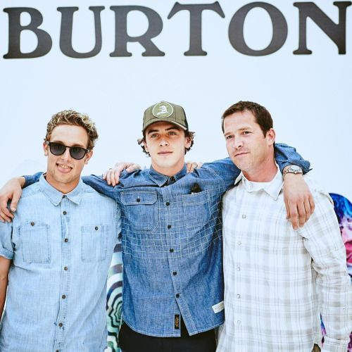 Mark McMorris- Great times out in NYC for @burtonsnowboards...