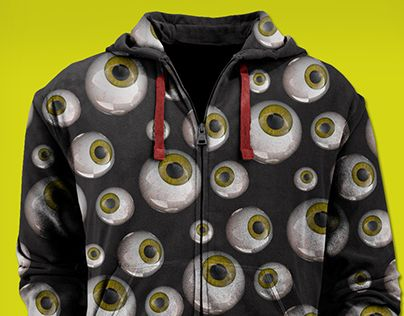 """Check out new work on my @Behance portfolio: """"HOODIE EYES"""" http://on.be.net/1GWZjzY"""
