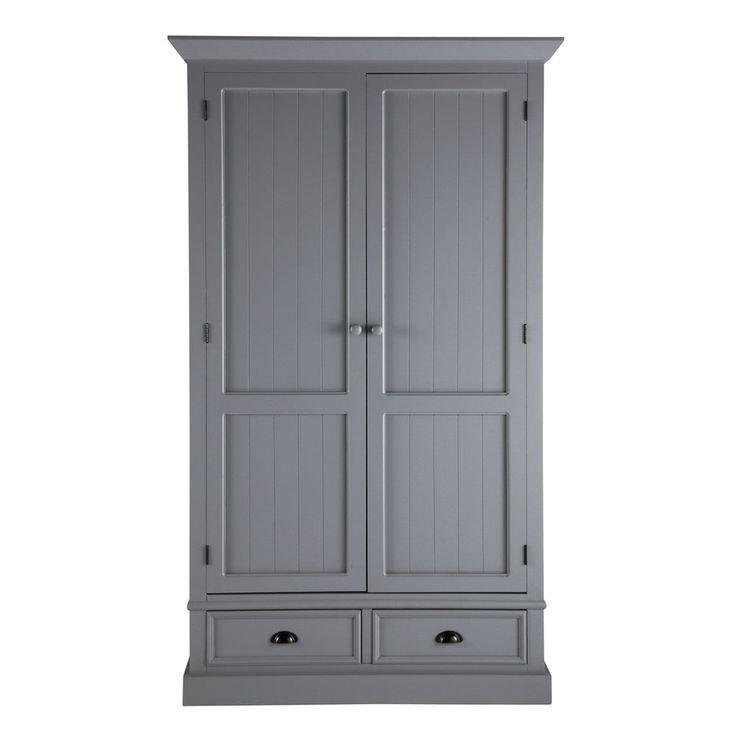 armario de madera gris an 114 cm newport mobles in 2019. Black Bedroom Furniture Sets. Home Design Ideas