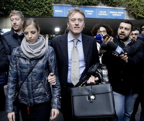 #CarolinaKostner con l'avvocato Giovanni Fontana