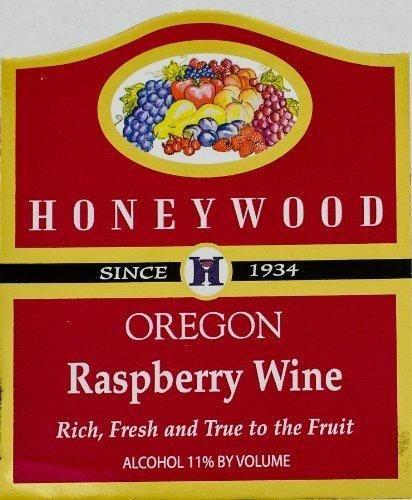 NV Honeywood Winery Raspberry Fruit Wine 750 mL