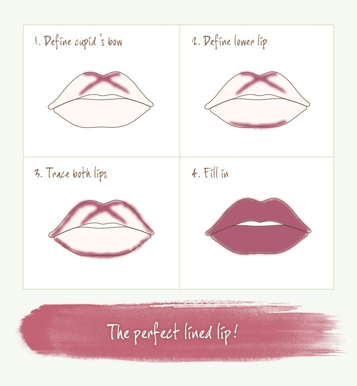 Learn how to get the perfect lined lip with our new Lip Contour Liners!