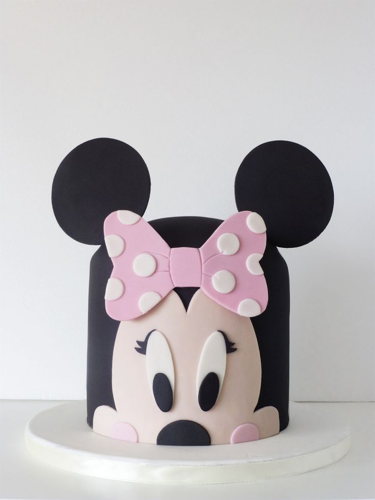 Cake Designs Minnie Mouse : Best 25+ Mini mouse cake ideas on Pinterest Minnie mouse ...