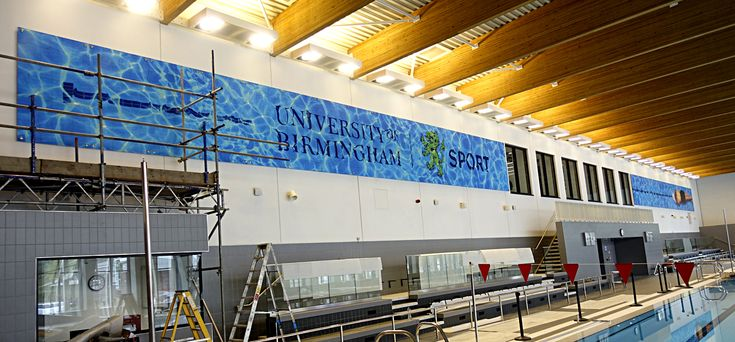 8 best colorful acrylic wall panels images on pinterest - University of birmingham swimming pool ...