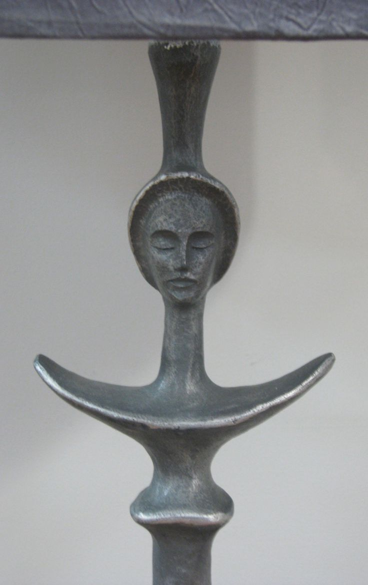 Details of Masai Floor Lamp by Trevor Opperman. For more please visit www.finearts.co.za