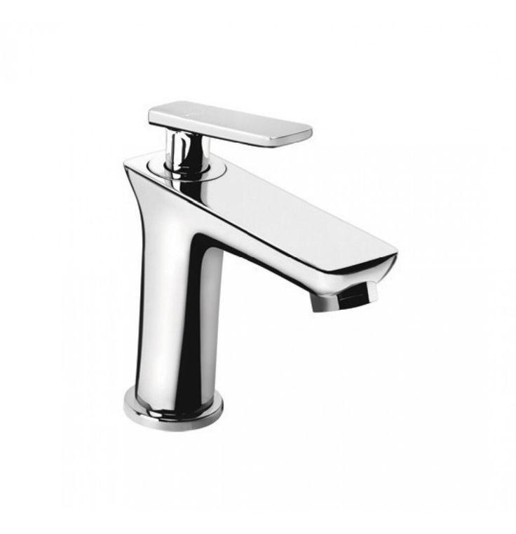 Hindware Kylis Quarter Turn Pillar Cock Faucet In Chrome (F370001) - Basin Faucets - Wash Basin Area - Bathroom