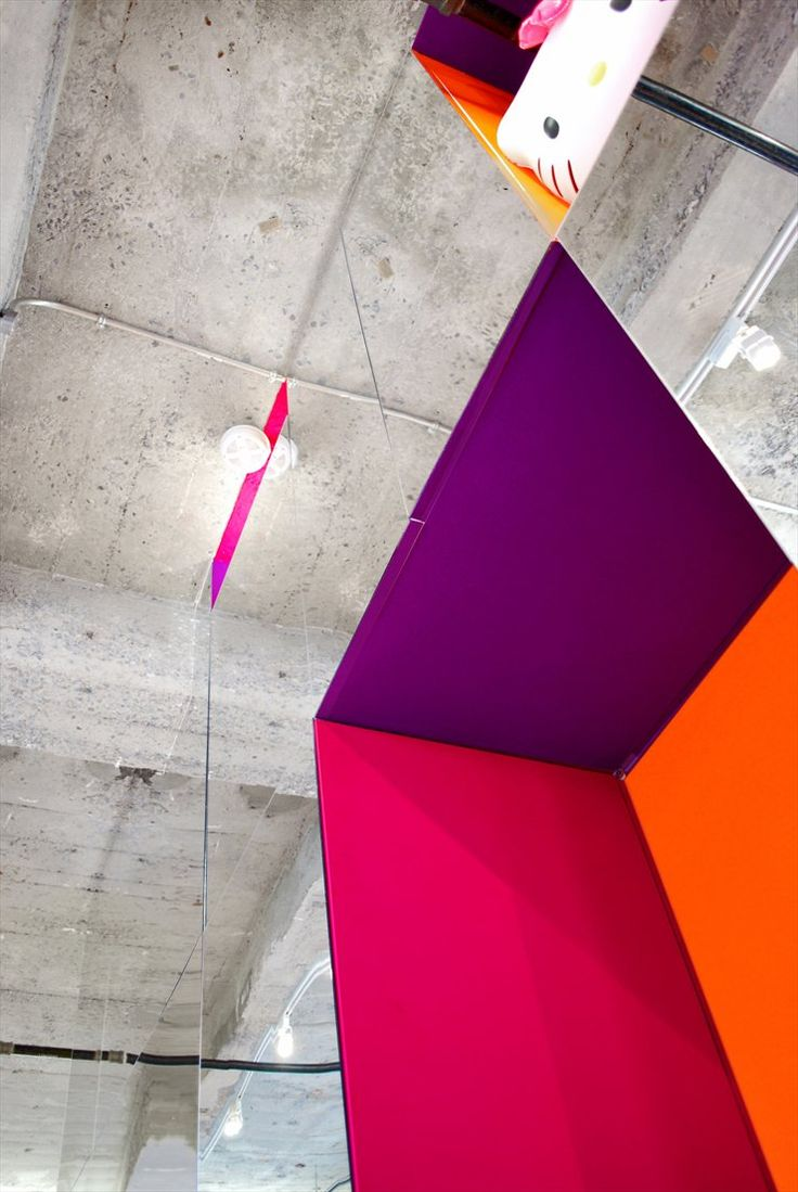 Prismatic #Colours, Montreal, 2011 by Jean Verville Architecte #architecture #interiors #colors #archilovers