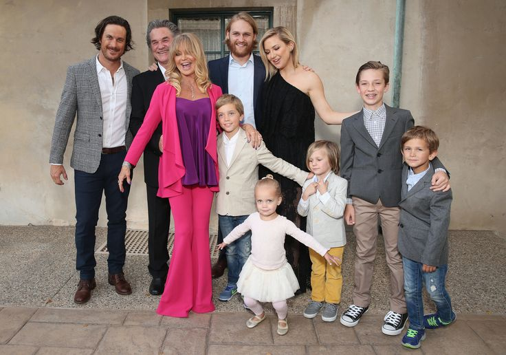 Goldie Hawn Turns Her Charity Event Into a Full-Blown Family Affair