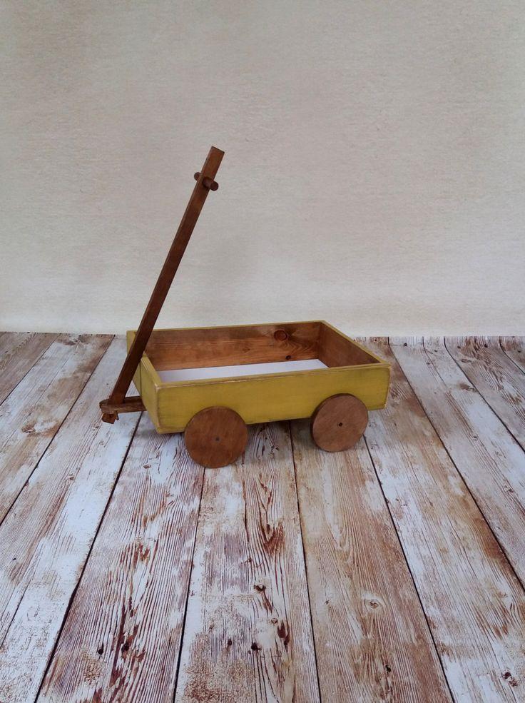 Vintage cart prop, baby cart prop, wooden cart photo prop, vintage cart photo prop, newborn props, country style cart prop by KaroLovewdzianka on Etsy