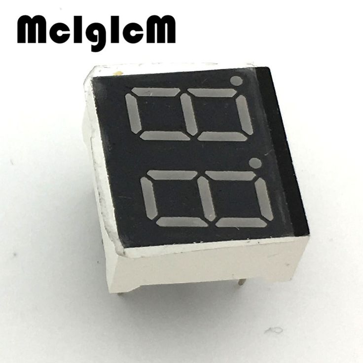 "H146-01 10pcs 7 segment common Cathode 2 Bit digital Tube 0.36"" 0.36in. Red LED Display 7 segmentos LED Digital tube #Affiliate"