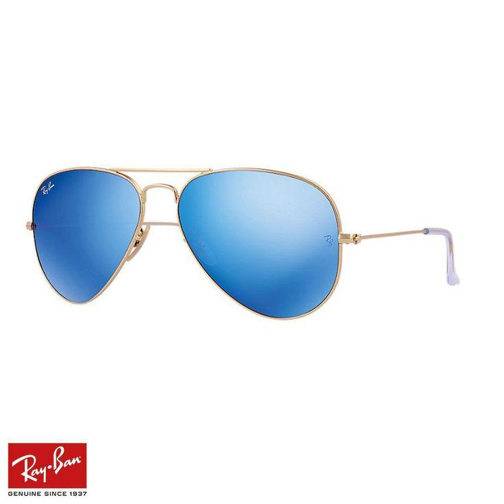 RayBan Aviator Flash F.Mavi-Altın Gözlük - 10 #RayBan #RayBanGözlük #Aviator Flash