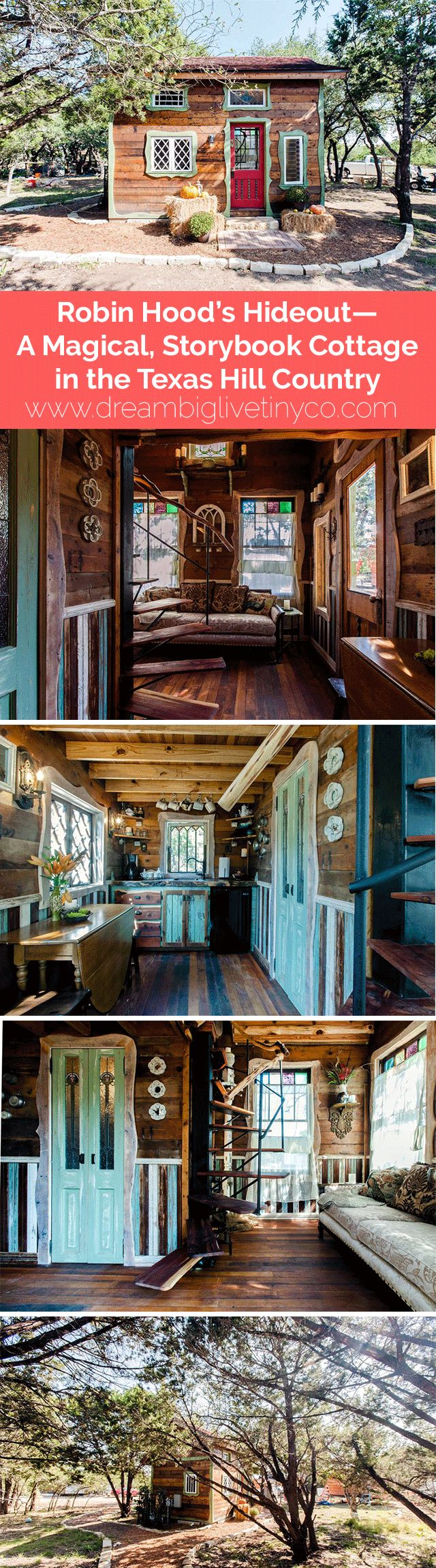 Robin Hood's Hideout--A Magical, Storybook Cottage in the Texas Hill Country