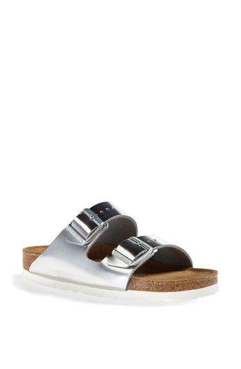 Birkenstock 'Arizona' Soft Footbed Leather Sandal (Women)   Nordstrom